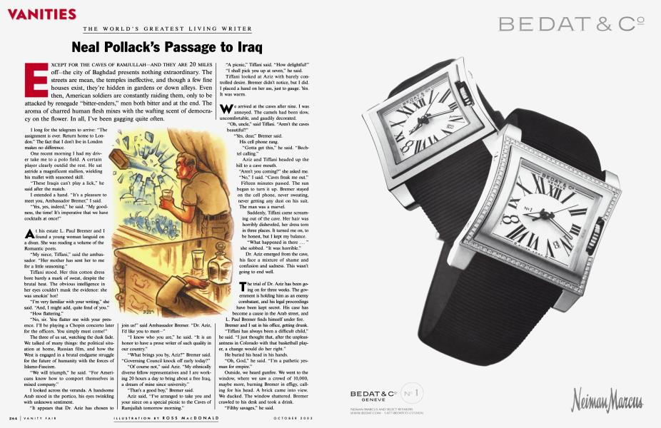 Neal Pollack's Passage to Iraq