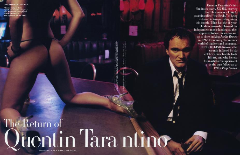 The Return of Quentin Tarantino