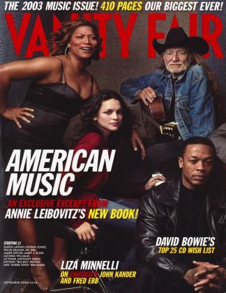 November 2003 | Vanity Fair