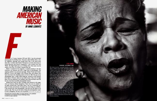 Article Preview: MAKING AMERICAN MUSIC, November 2003 2003 | Vanity Fair