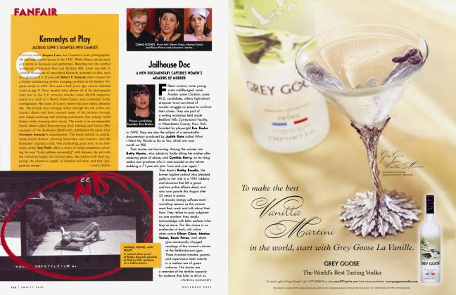 Article Preview: Jailhouse Doc, November 2003 2003   Vanity Fair