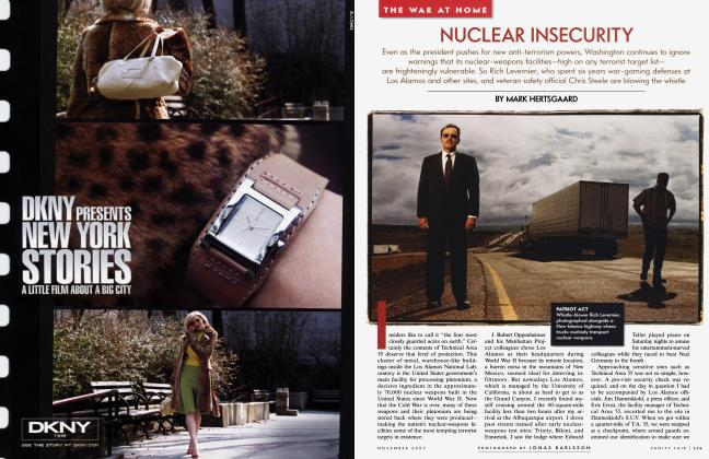 Article Preview: NUCLEAR INSECURITY, November 2003 | Vanity Fair