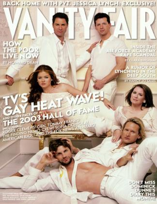 December 2003 | Vanity Fair
