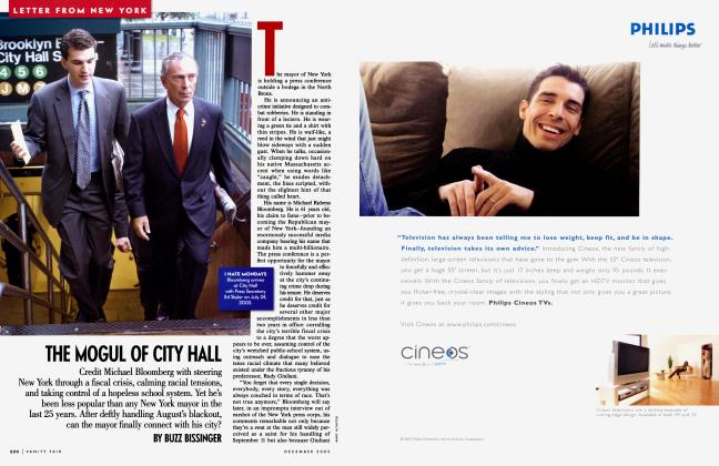 Article Preview: THE MOGUL OF CITY HALL, December 2003 2003 | Vanity Fair