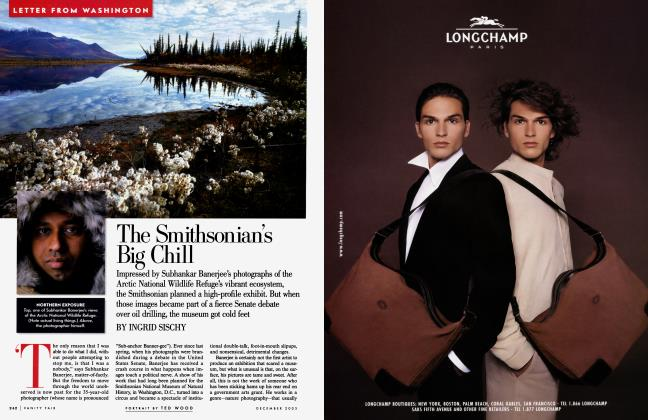 Article Preview: The Smithsonian's Big Chill, December 2003 | Vanity Fair