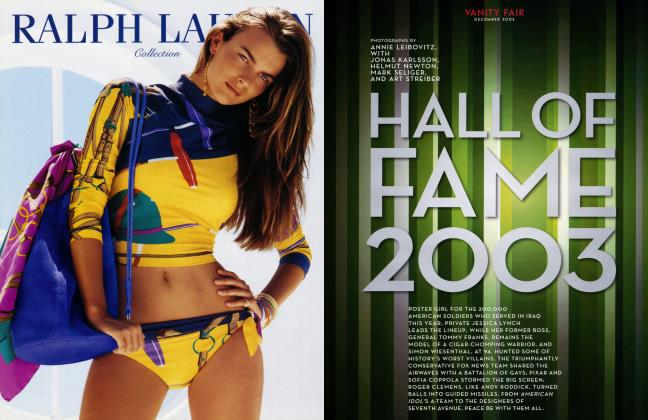 Article Preview: HALL OF FAME 2003, December 2003 2003 | Vanity Fair
