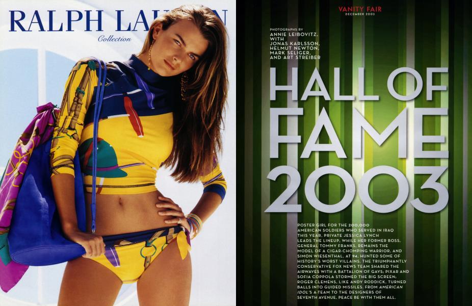 HALL OF FAME 2003