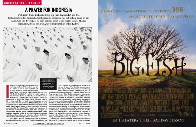 Article Preview: A PRAYER FOR INDONESIA, January 2004 2004 | Vanity Fair