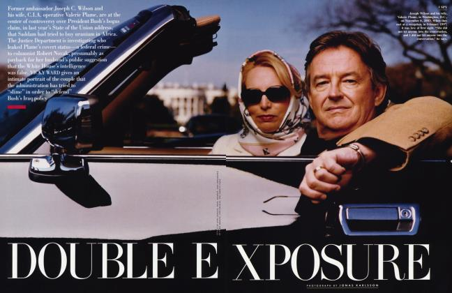 Article Preview: DOUBLE EXPOSURE, January 2004 2004 | Vanity Fair