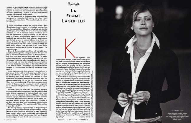 Article Preview: LA FEMME LAGERFELD, January 2004 2004 | Vanity Fair