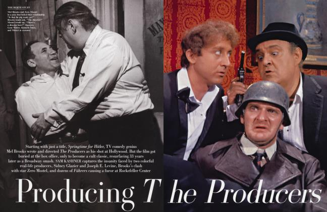 Article Preview: Producing The Producers, January 2004 2004 | Vanity Fair