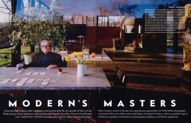 Article Preview: MODERN'S MASTERS, January 2004 2004 | Vanity Fair