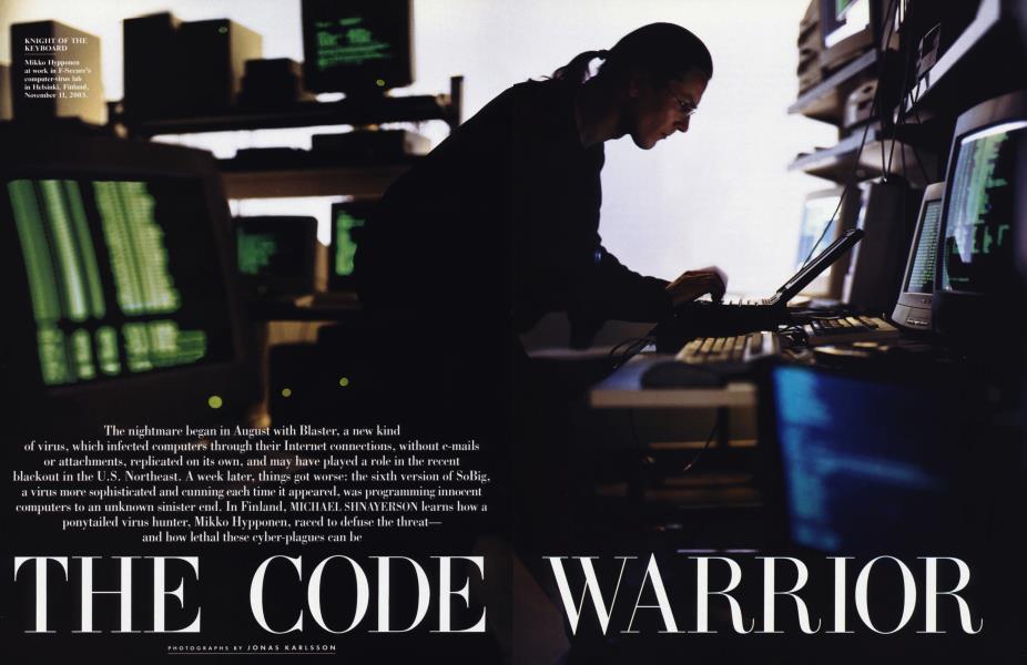 THE CODE WARRIOR