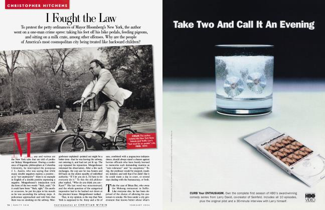 Article Preview: I Fought the Law, February 2004 | Vanity Fair
