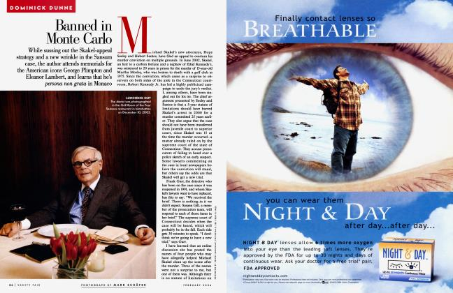 Article Preview: Banned in Monte Carlo, February 2004 2004 | Vanity Fair