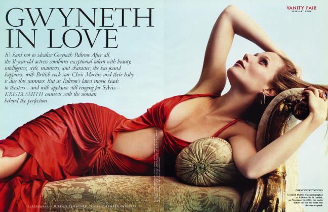 Article Preview: GWYNETH IN LOVE, February 2004 | Vanity Fair