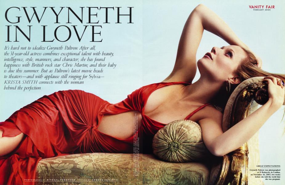GWYNETH IN LOVE