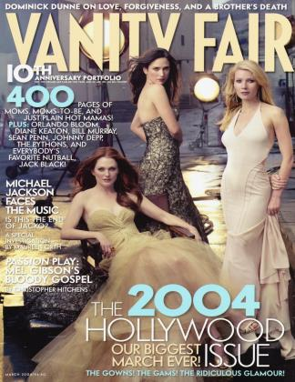March 2004 | Vanity Fair