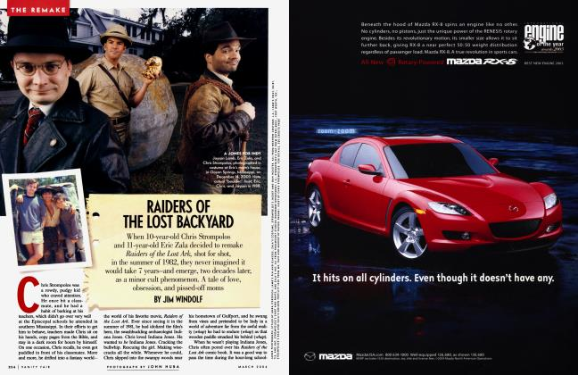 Article Preview: RAIDERS OF THE LOST BACKYARD, March 2004 2004 | Vanity Fair