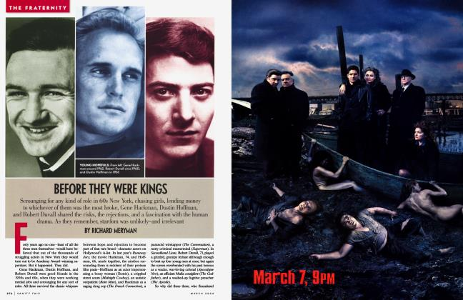 Article Preview: BEFORE THEY WERE KINGS, March 2004 | Vanity Fair