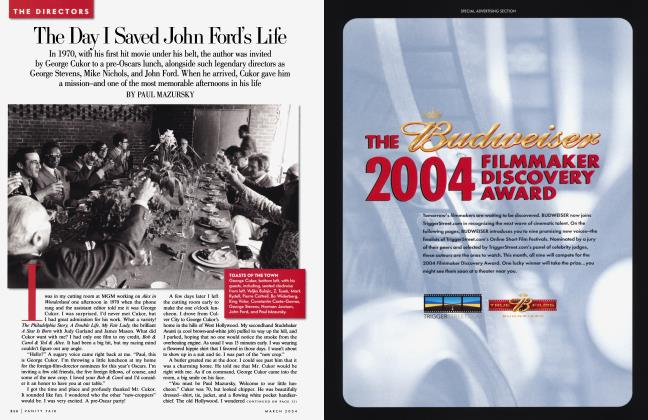 Article Preview: The Day I Saved John Ford's Life, March 2004 2004 | Vanity Fair
