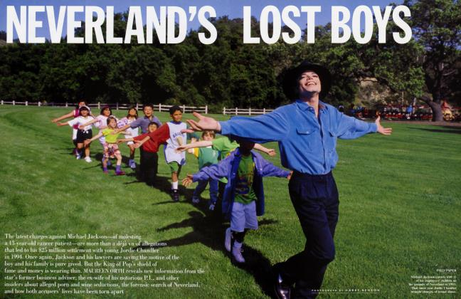 NEVERLAND'S LOST BOYS