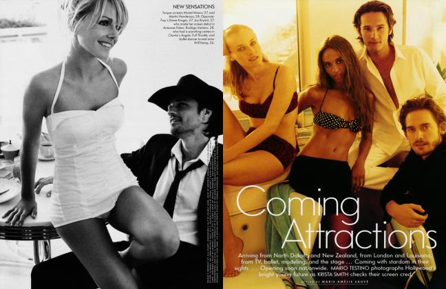 Article Preview: Coming Attractions, March 2004 2004 | Vanity Fair