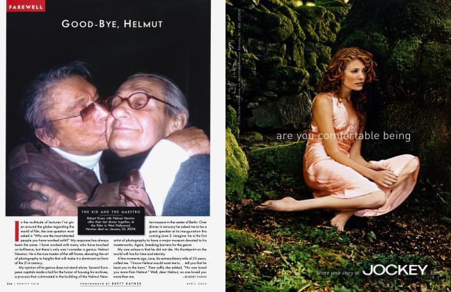 Article Preview: GOOD-BYE, HELMUT, April 2004 2004 | Vanity Fair
