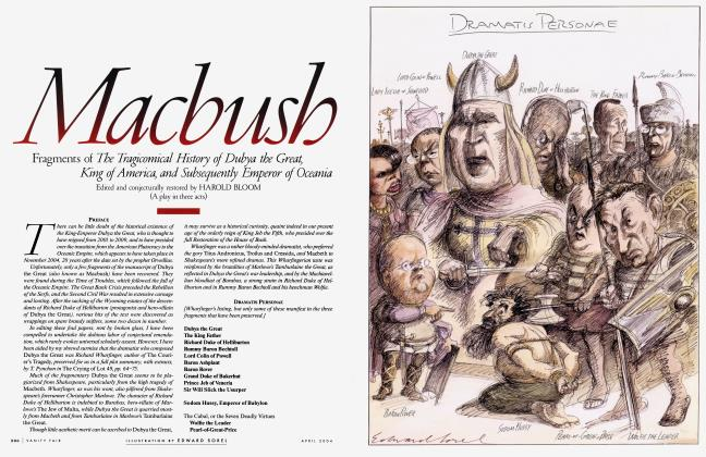 Article Preview: Macbush, April 2004 | Vanity Fair