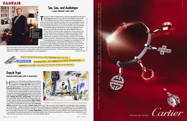 Article Preview: Sex, Lies, and Audiotape, April 2004 2004 | Vanity Fair
