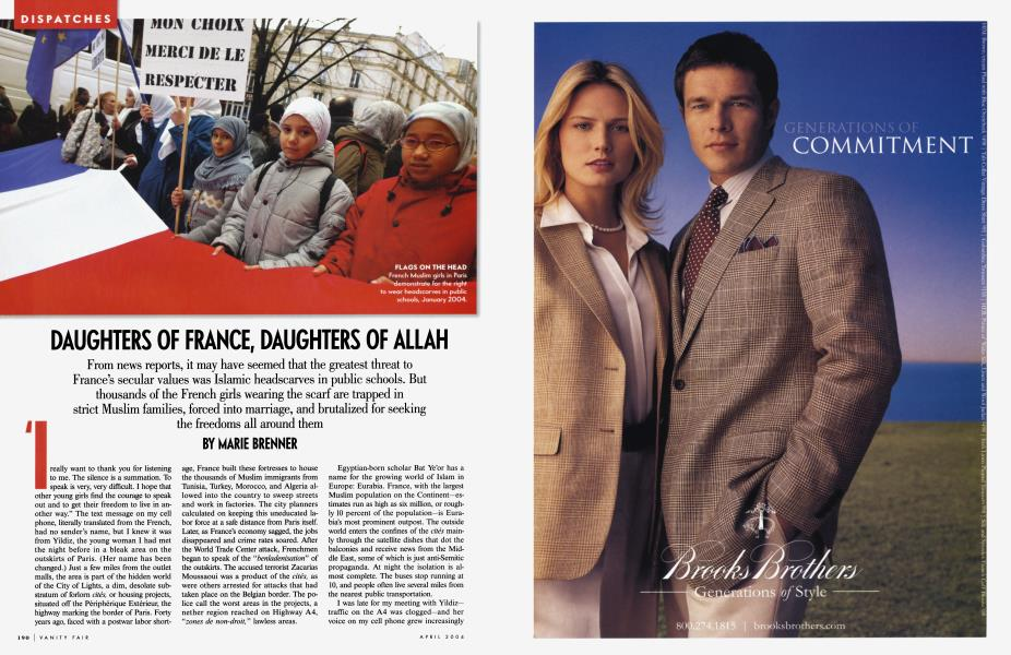 DAUGHTERS OF FRANCE, DAUGHTERS OF ALLAH