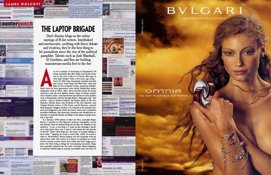 THE LAPTOP BRIGADE