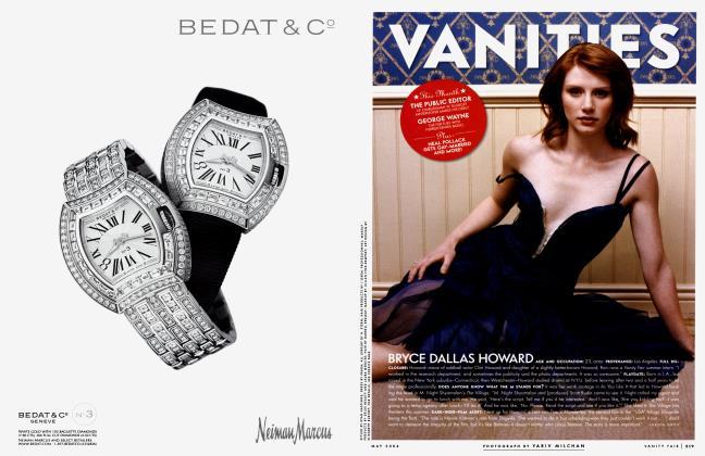 Article Preview: BRYCE DALLAS HOWARD, May 2004 2004   Vanity Fair