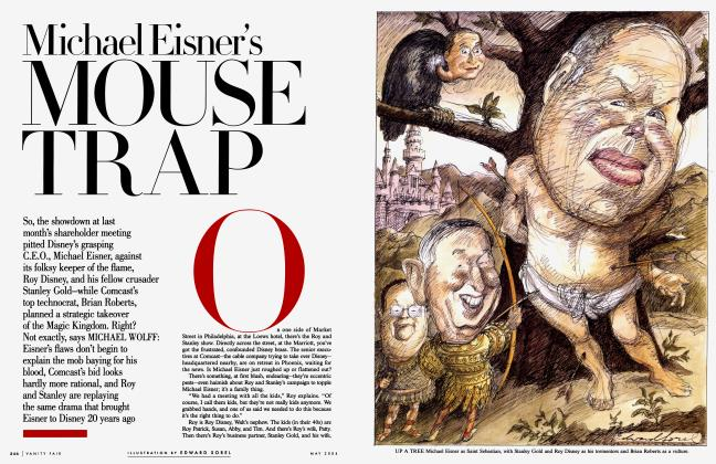 Article Preview: Michael Eisner's MOUSE TRAP, May 2004 | Vanity Fair