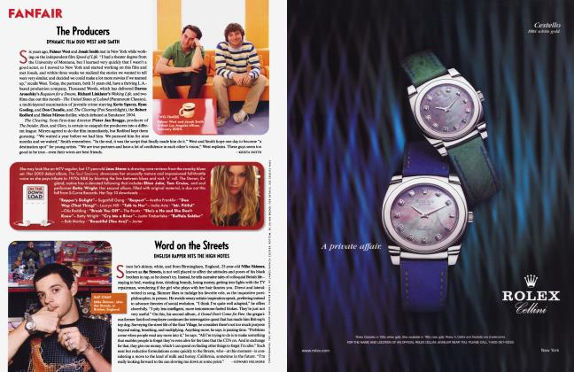 Article Preview: The Producers, May 2004 2004 | Vanity Fair