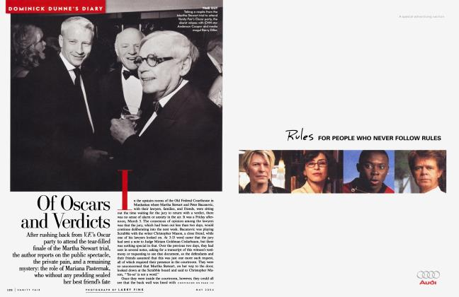 Article Preview: Of Oscars and Verdicts, May 2004 | Vanity Fair