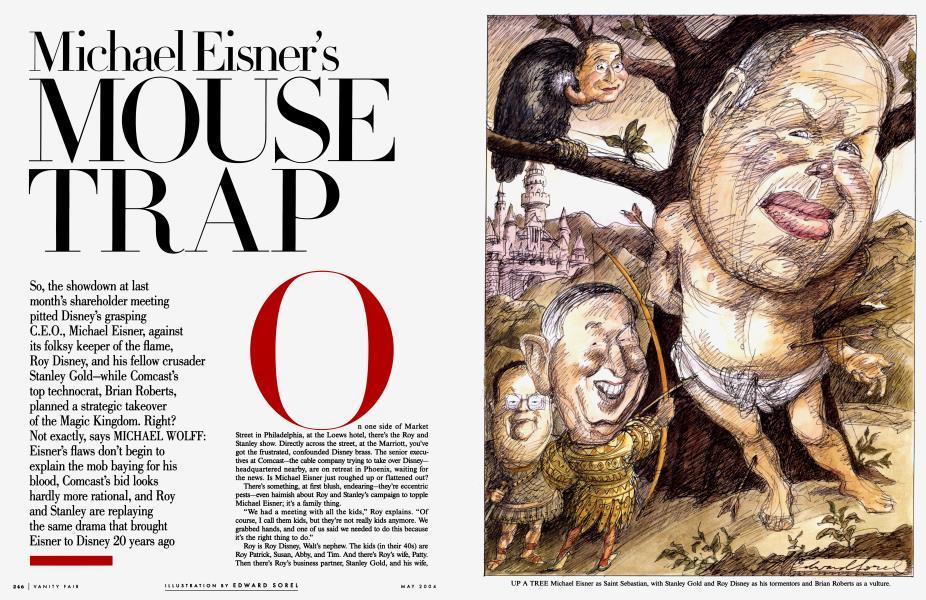 Michael Eisner's MOUSE TRAP