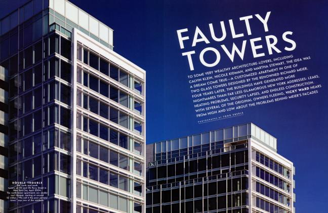Article Preview: FAULTY TOWERS, June 2004 2004 | Vanity Fair