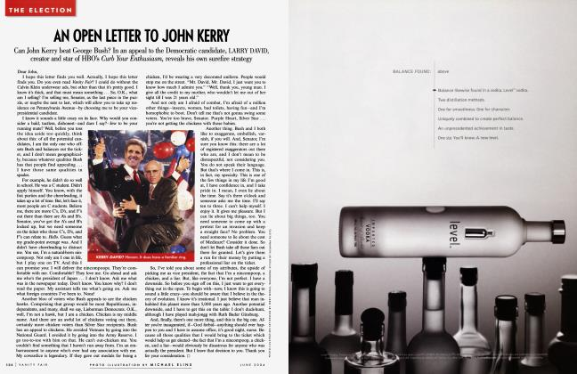 Article Preview: AN OPEN LETTER TO JOHN KERRY, June 2004 | Vanity Fair