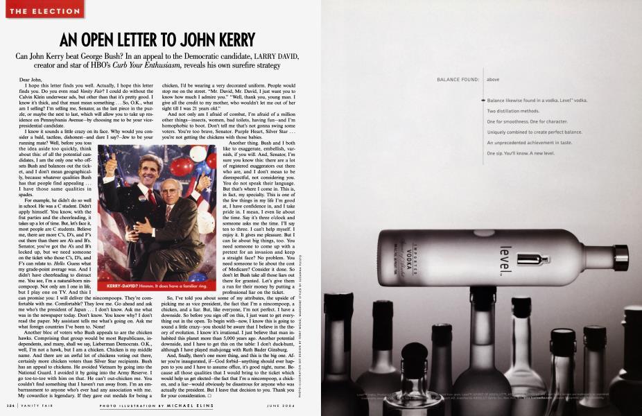 AN OPEN LETTER TO JOHN KERRY