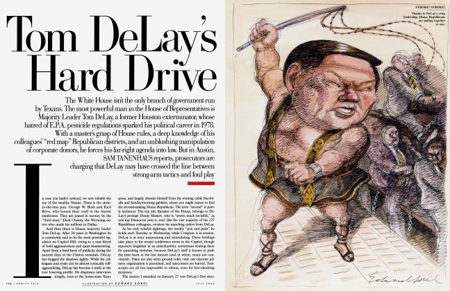 Article Preview: Tom DeLay's Hard Drive, July 2004 | Vanity Fair