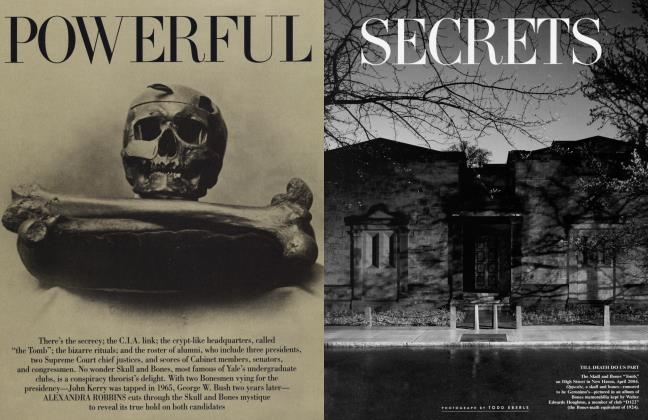 Article Preview: POWERFUL SECRETS, July 2004 | Vanity Fair