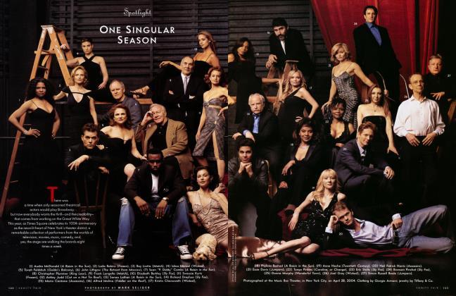 Article Preview: ONE SINGULAR SEASON, July 2004 2004 | Vanity Fair