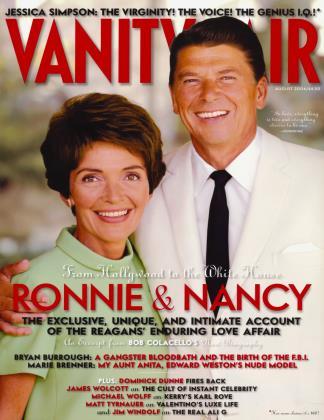 August 2004 | Vanity Fair