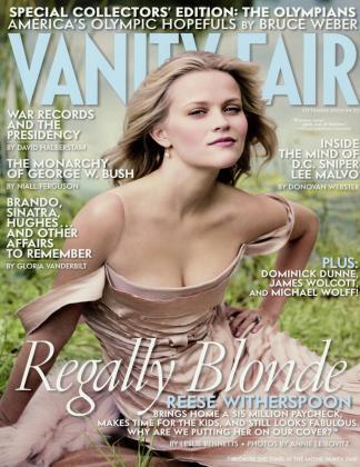 September 2004 | Vanity Fair