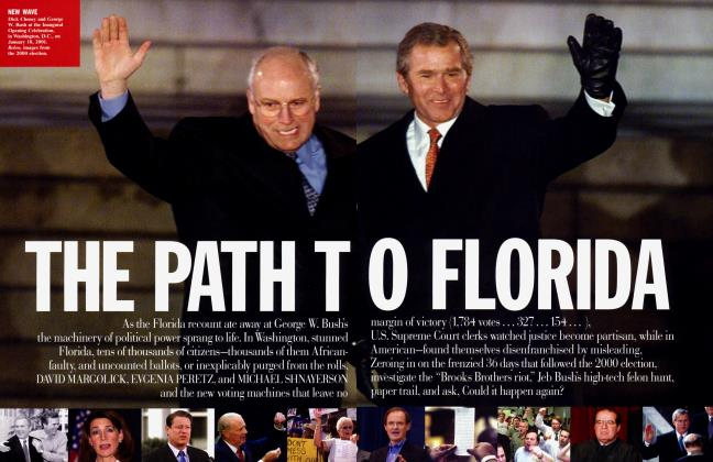 Article Preview: THE PATH TO FLORIDA, October 2004 2004 | Vanity Fair