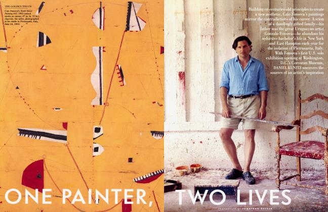 Article Preview: ONE PAINTER, TWO LIVES, October 2004 | Vanity Fair