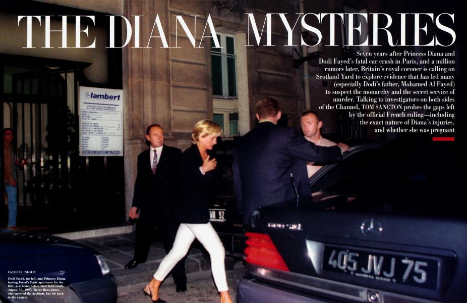the diana mysteries vanity fair october 2004 the diana mysteries vanity fair