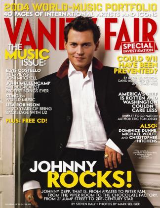November 2004 | Vanity Fair