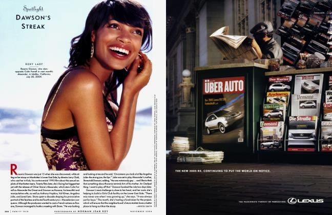 Article Preview: DAWSON'S STREAK, November 2004 2004   Vanity Fair